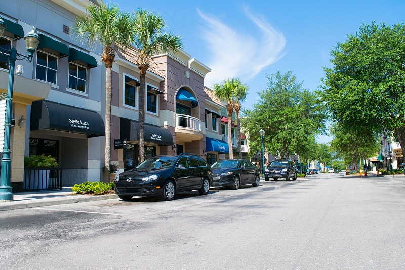 Shopping Winter Park Village em Winter Park