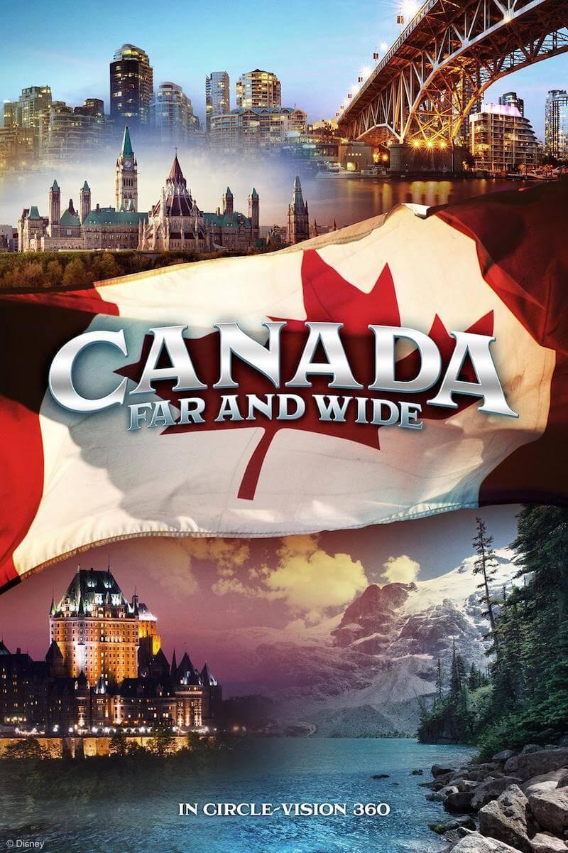 Filme Canada Far and Wide no Epcot da Disney Orlando