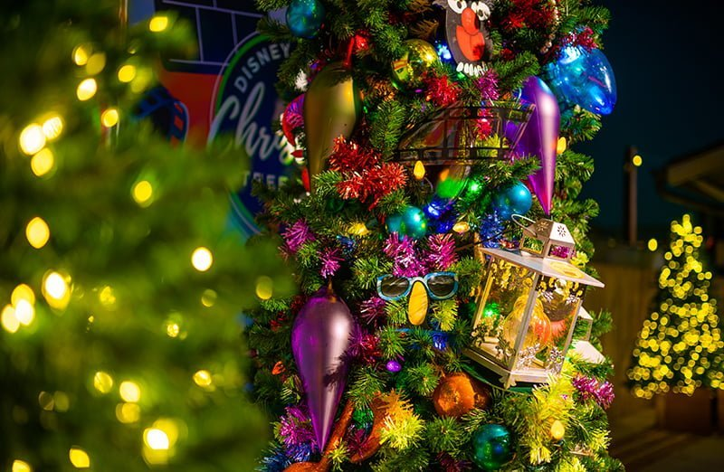 Natal na Disney Springs em 2019