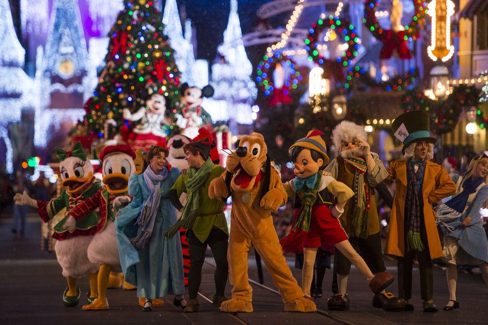 Natal no Magic Kingdom em 2019