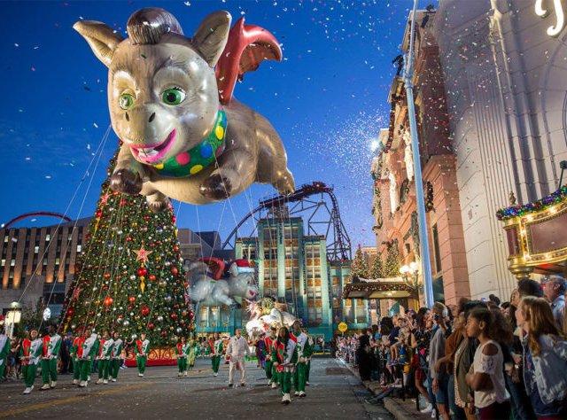 Natal da Universal em Orlando em 2019