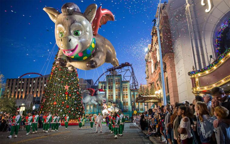 Natal na Universal em Orlando