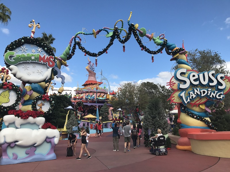 Natal no Universal Studios em 2019 - Seuss Land