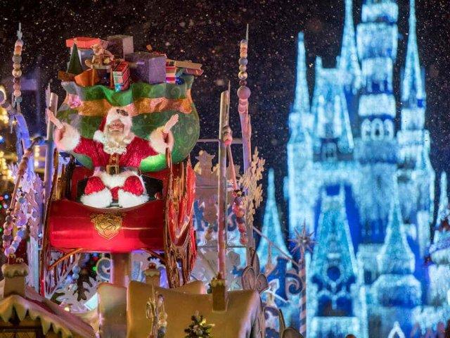 Natal da Disney em Orlando em 2019