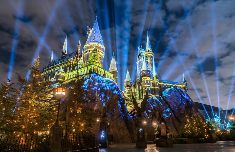 Natal no Islands of Adventure em 2019 - Harry Potter