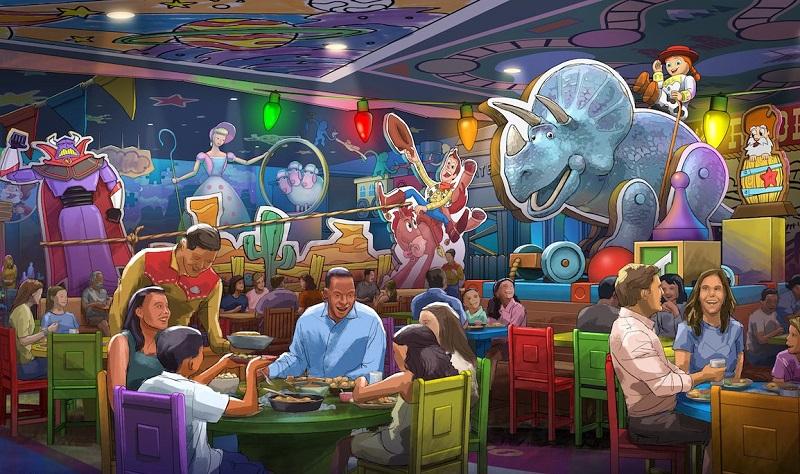 Restaurante Roundup Rodeo BBQ no Disney Hollywood Studios