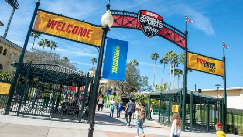 NFL Pro Bowl Week 2020 na Disney Orlando