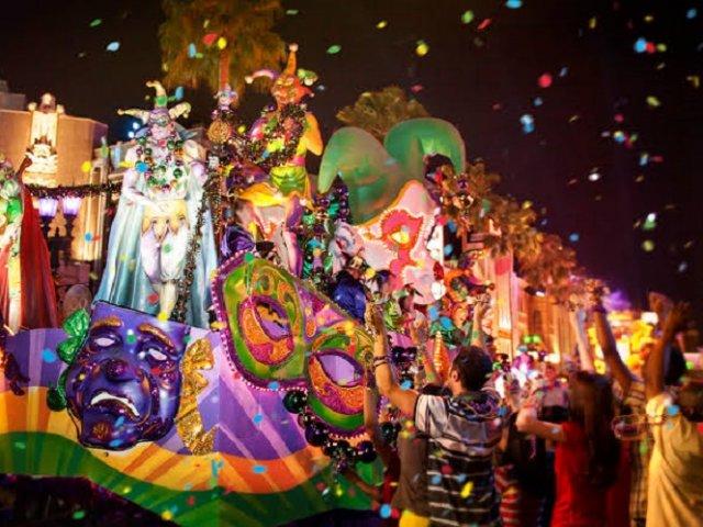 Mardi Gras na Universal Orlando em 2020