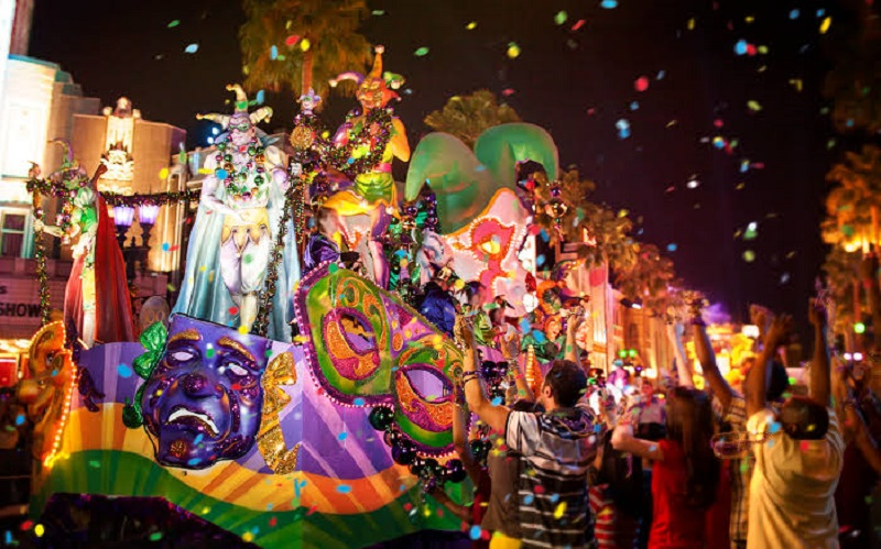 Mardi Gras na Universal