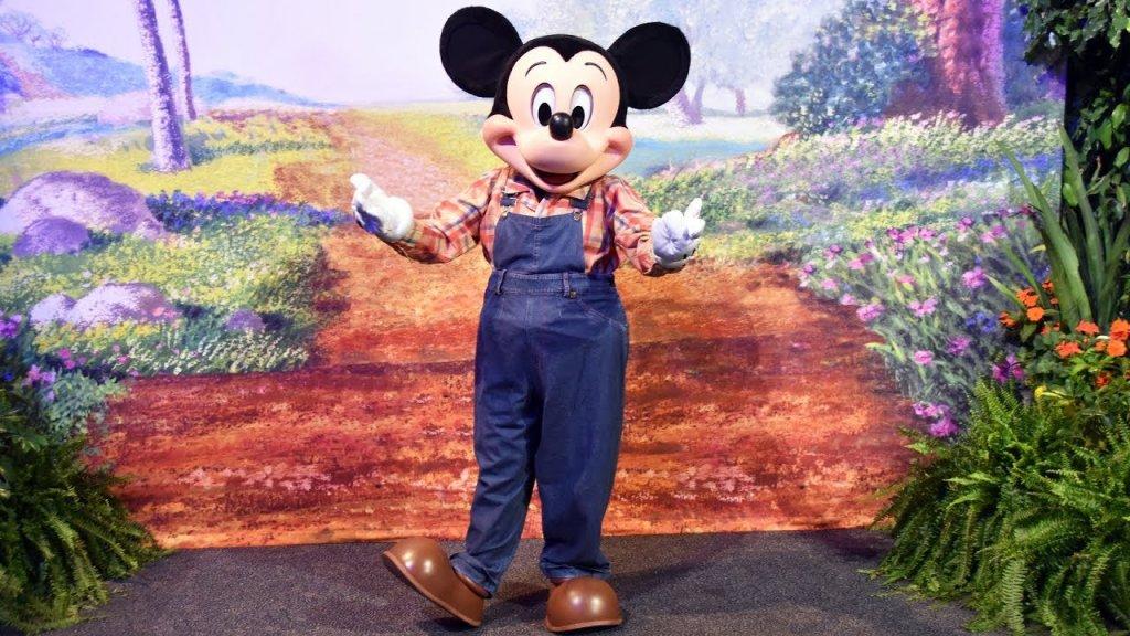 Mickey de fazendeiro no Epcot da Disney Orlando