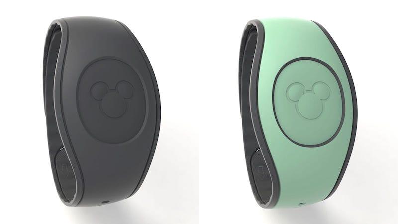 Novas cores das pulseiras Magic Band da Disney Orlando