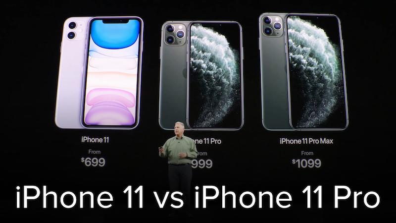 Diferenças entre o iPhone 11, 11 Pro e 11 Pro Max