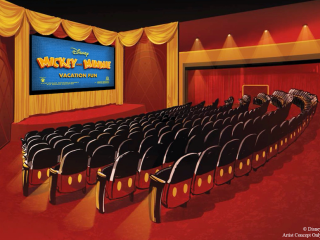 Mickey Shorts Theater no Hollywood Studios da Disney Orlando