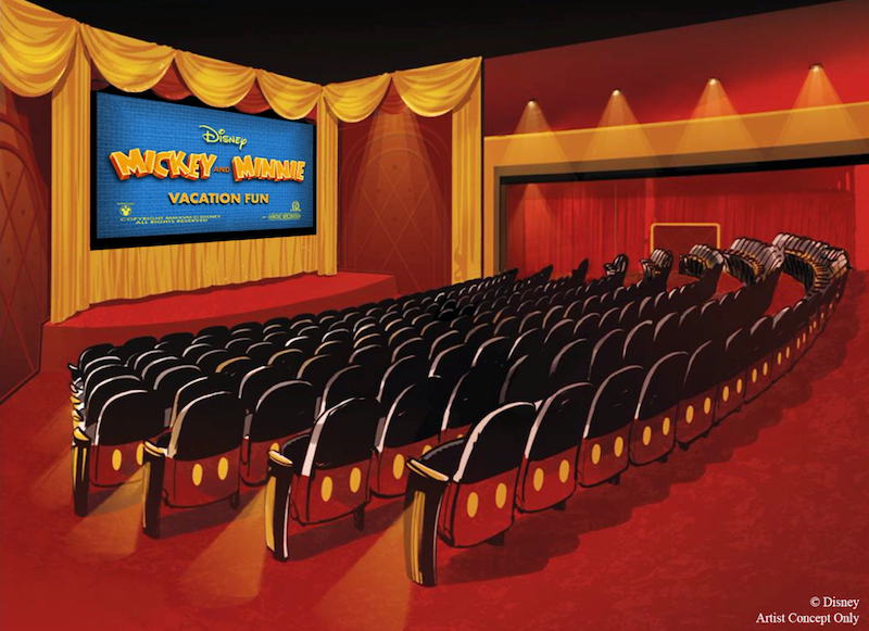 Mickey Shorts Theater no Hollywood Studios