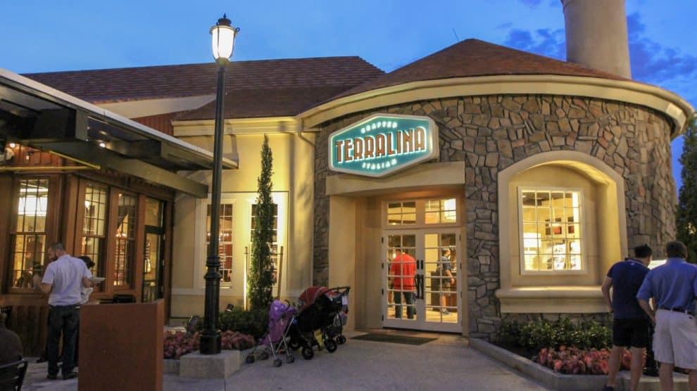 Terralina Crafted Italian na Disney Springs em Orlando