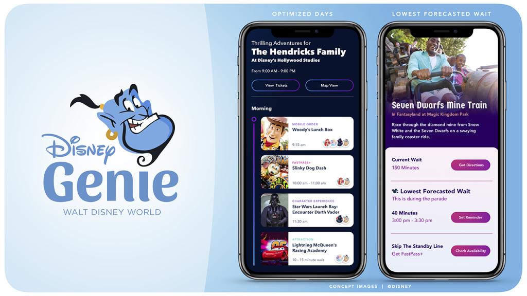 Aplicativo Disney Genie