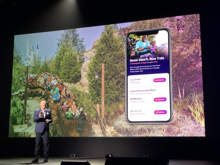 Apresentação do Aplicativo Disney Genie