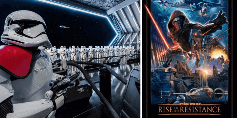 Star Wars: Rise of the Resistance na Disney Orlando