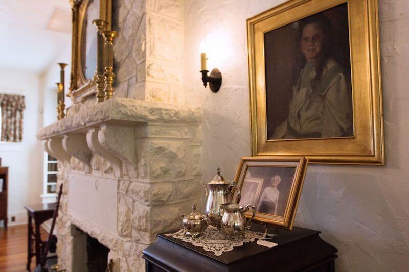 Interior da Merrick House em Coral Gables em Miami