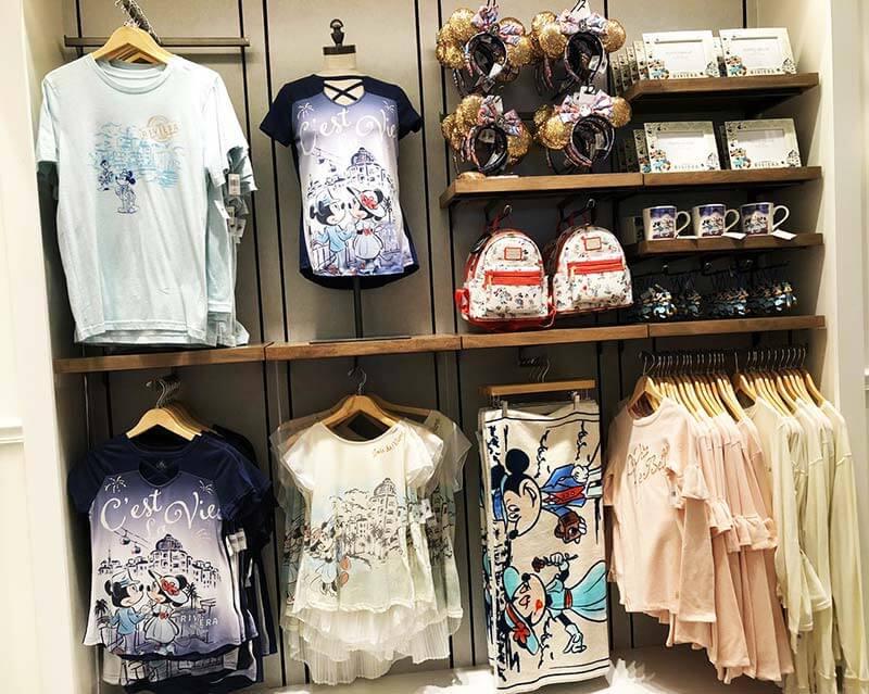 Artigos da Loja La Boutique no Disney's Riviera Resort em Orlando