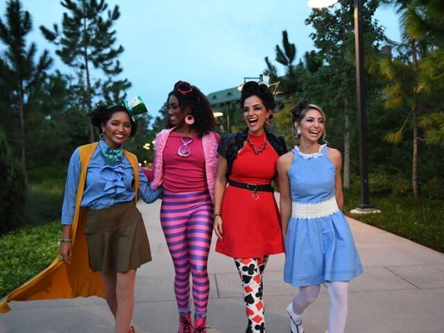 Salão para adultos Character Couture na Disney
