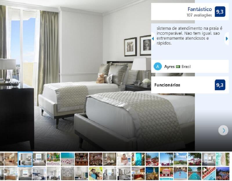 Quarto do Hotel Acqualina Resort & SPA Miami