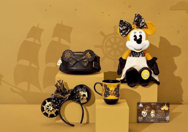 Produtos da Minnie em homenagem às atrações da Disney
