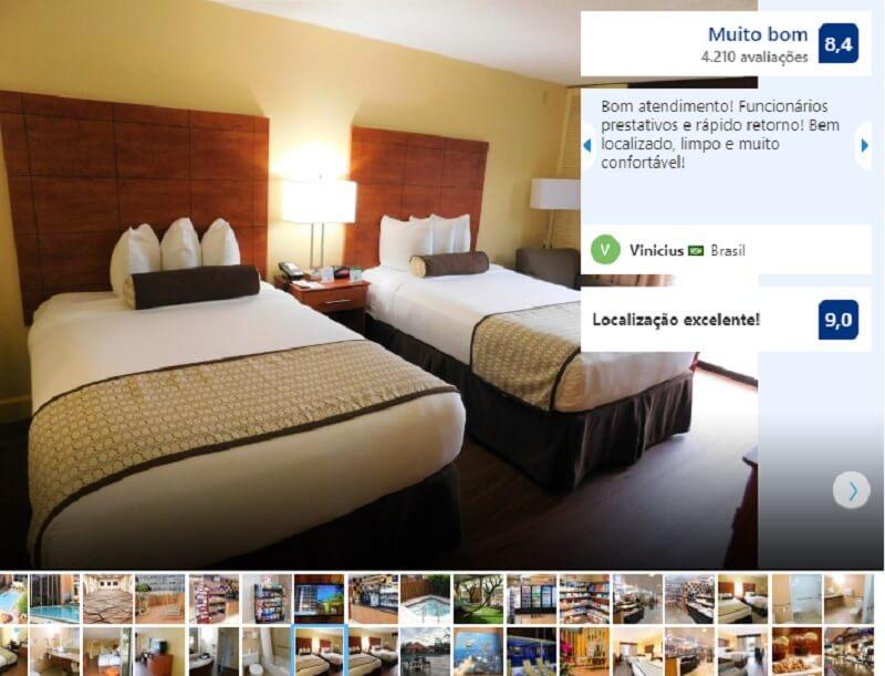 Quarto do Best Western Orlando Gateway Hotel em Orlando
