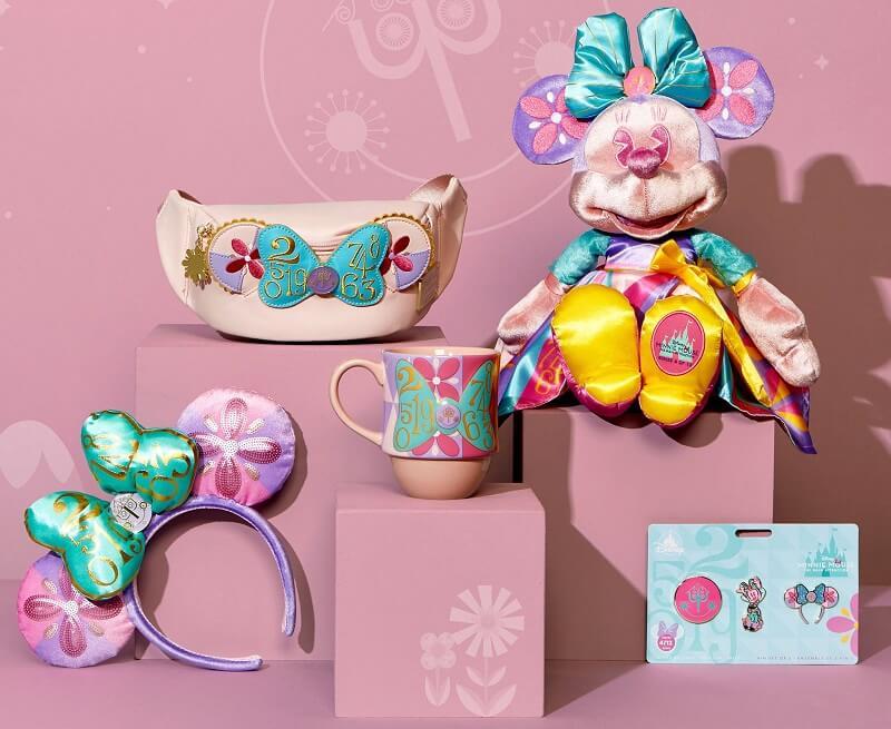Kit exclusivo da Disney com Minnie
