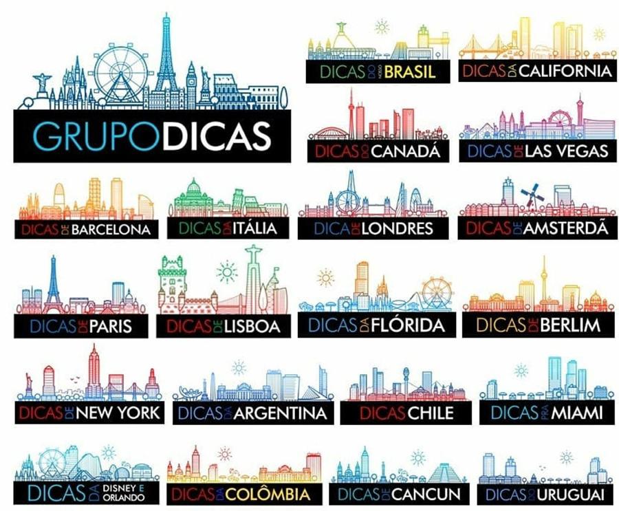 Grupo Dicas - Blogs de viagem